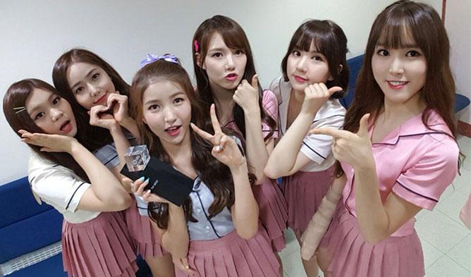 gfriend news, gfriend triple crown, gfriend 2016, gfriend navillera, gfriend lol, gfriend navillera win, gfriend 1st win, gfriend 1st win 2016