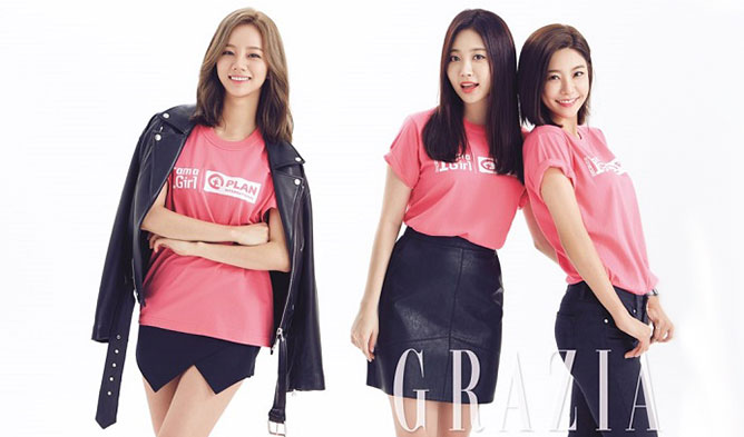 girls day, girls day 2016, girls day grazia, girls day charity, girls day charity 2016, girls day photoshoot, girls day photoshoot 2016, girls day BIAAG