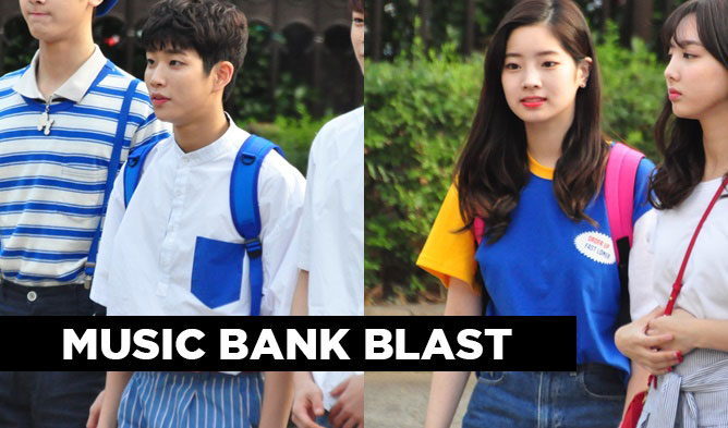 music bank, music bank 160805, kpop music bank, kpop couple idols, kpop couples, kpop couple clothes, astro music bank, ft island music bank, gfriend music bank, stellar music bank, up10tion music bank, twice music bank, oh my girl music bank