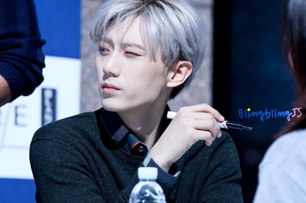 17 K Pop Male Idols Who Slay The Quick Silver Hair Kpopmap