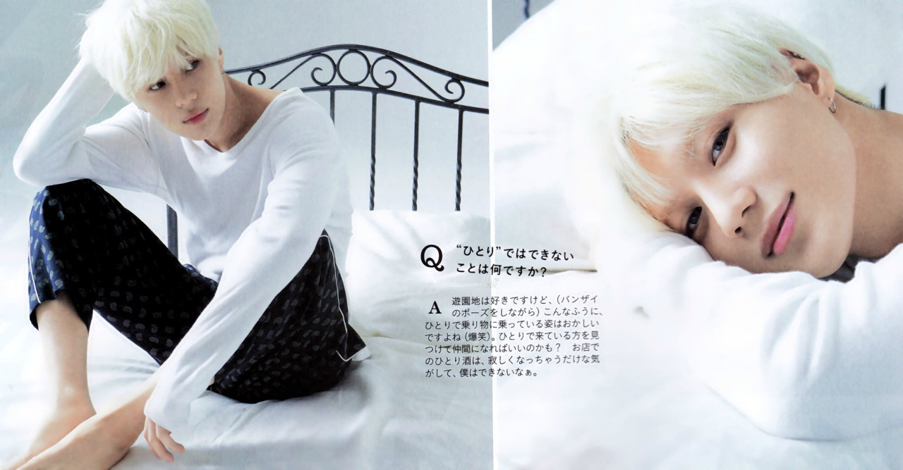 Photo )) The 8 of Best Photo Shoots of SHINee Taemin Ever