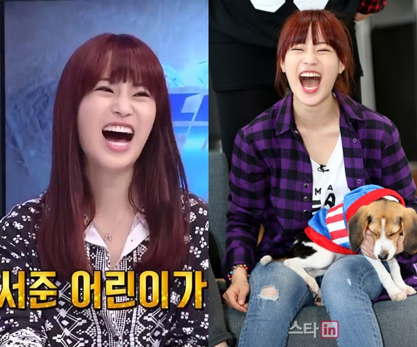 kpop idols laughing, kpop idols laugh, kpop laughing, happy laughing, laughing, youngji laughing