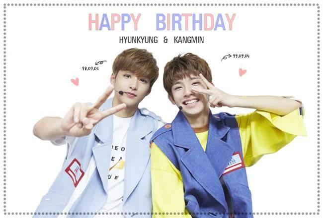 kpop romeo, kpop romeo birthday, kangmin birthday, hyunkyun birthday