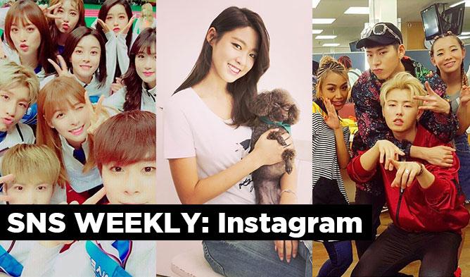 sns weekly, kpop instagram, kpop sns, kpop weekly sns, kpop idol instagram, astro instagram, hello venus instagram, zico instagram, block b instagram, seolhyun instagram, aoa instagram