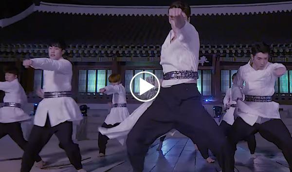 k-tigers arirang, eun gaeun arirang, microdot arirang, k-tigers taekwondo arirang music video