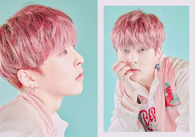 22 K Pop Idols Boys Who Are Pretty In Pink Hair Kpopmap