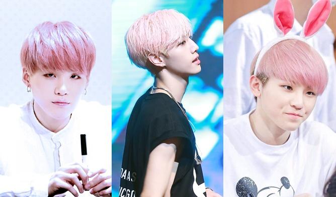 kpop idols pink hair, kpop pink hair, pink hair idols, pink hair kpop idols,