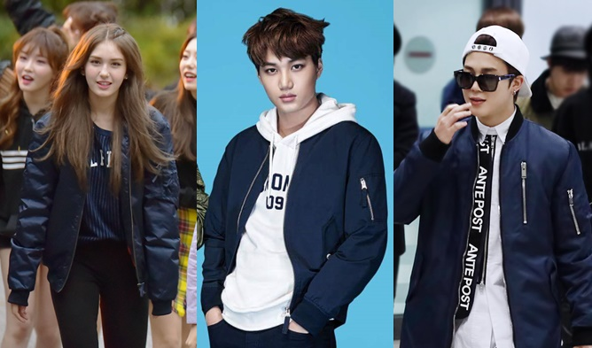 Fab Fashion Friday How To Wear K Pop Idol Trend Bomber Jackets