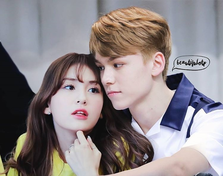 K-Pop Couple Fantasy: I O I's SoMi and SEVENTEEN's Vernon • Kpopmap