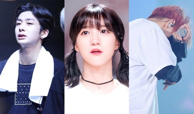 kpop idols, kpop idols crying, kpop crying, kpop sad, kpop tears, kpop idols, emotional kpop idols,