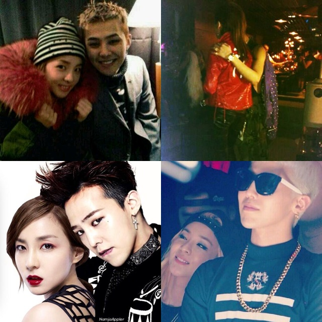 2ne1 cl and g dragon dating