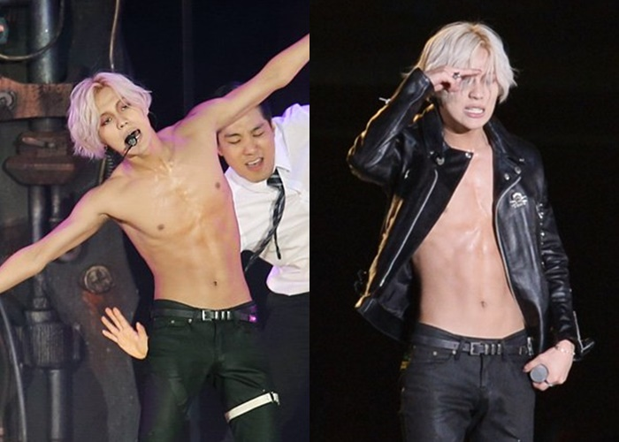 8 K-Pop Male Idols' Sexy Bare Abs to Get You Thirsty | Kpopmap