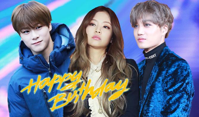 K-Pop Idols Celebrating January Birthdays