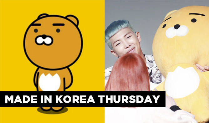Made In Korea Thursday: Kakao Friends Character Ryan