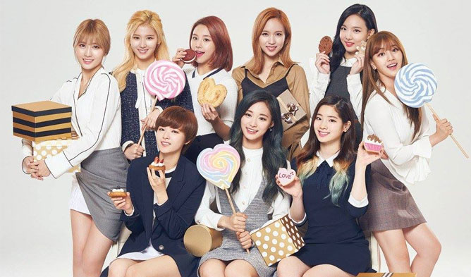 twice, pocari sweat, endorsement, advertisement, models, 2017 girl group, kpop