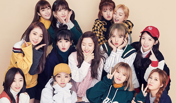 cosmic girls, wjsn, love calls, blue chip, cf, advertisement, ad, commercial, endorsement, girl group, kpop