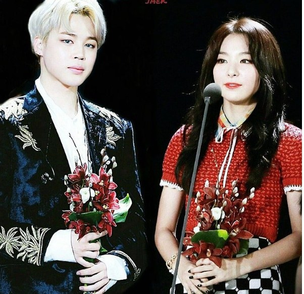 K-Pop Couple Fantasy: BTS's JiMin and Red Velvet's SeulGi • Kpopmap