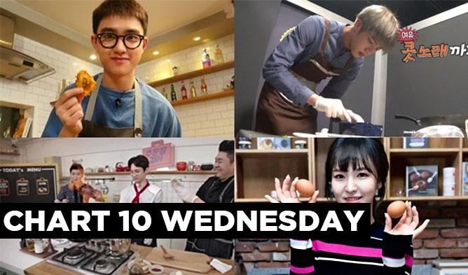 kpop idols cooking, cooking idols, kpop idols best cook,