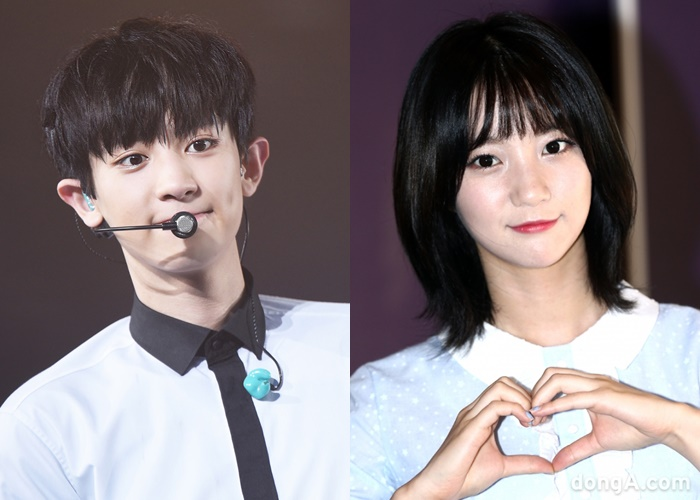 kpop doppelganger, doppelganger kpop, doppelganger idols, doppelganger twins, kpop doppelganger twins, kpop similar idols, kpop twins, chanyeol binnie, exo oh my girl