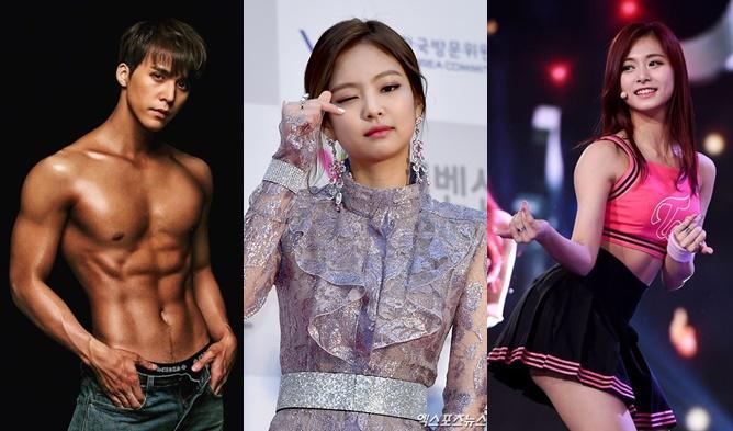 dark skin idols, chocolate skin idols, kpop dark skin, kpop skin type, tanned idols, tan idols, tan skin
