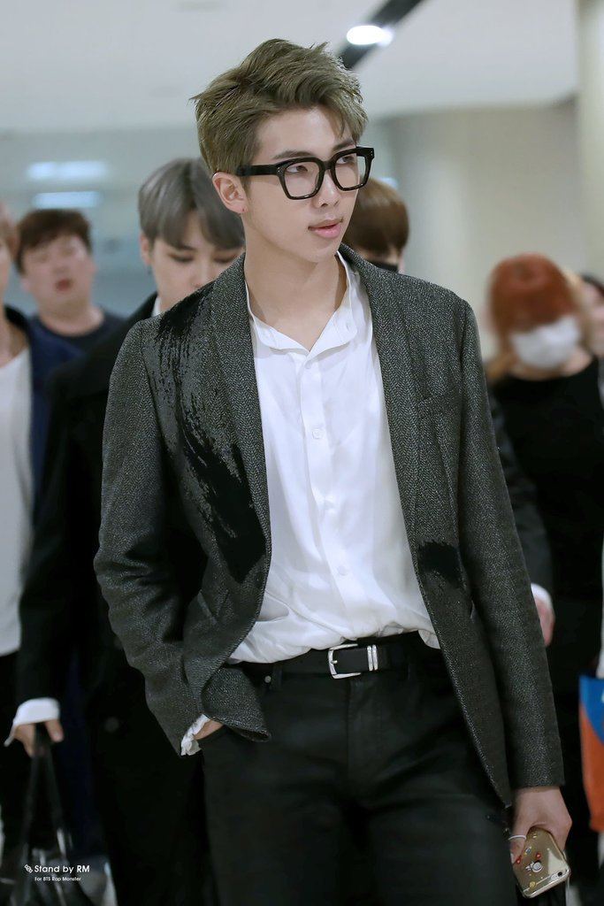 Idol Airport Fashion 101 Rap Monster Of Bts  Kpopmap-6342