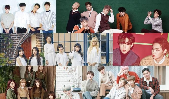 kpop comeback, kpop 2017, kpop 2017 comeback, kpop march comeback