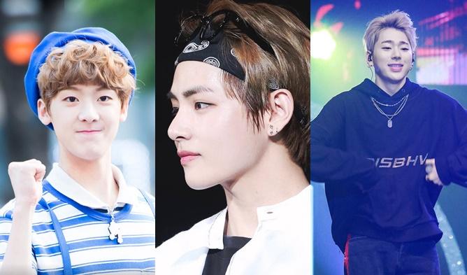 Idols, KPop Idols, Baby Face, SanHa, Lee SeungHoon, ZICO, Zelo, V
