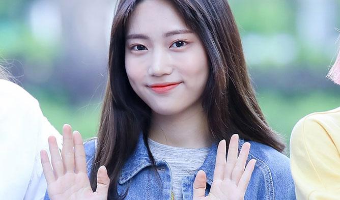 JooEun. JooEun of DIA, DIA, DIA Members