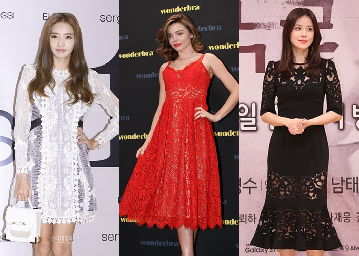 korean fashion, korean fashion 2017, kpop fashion, korean fashion trend, korean fashion 2017, kpop fashion trend 2017, korean lace trend, korean lace dress, taeyeon lace dress