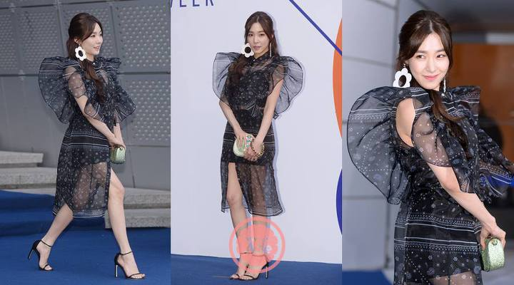 korean fashion, korean fashion trend, korean fashion 2017, korean fashion sheer, korean fashion see through, snsd tiffany fashion 2017, snsd tiffany 2017