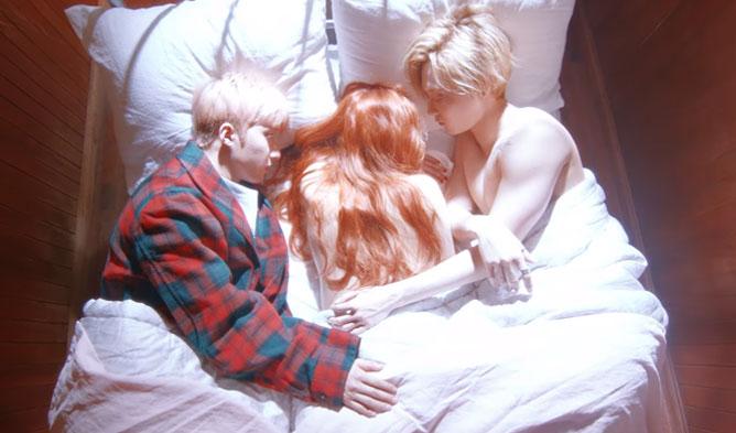 hyuna, sexy hyuna, triple h, hyuna boyfriends, hyuna male partners, triple h hyuna, hyuna hui hyojong, hyung edawn