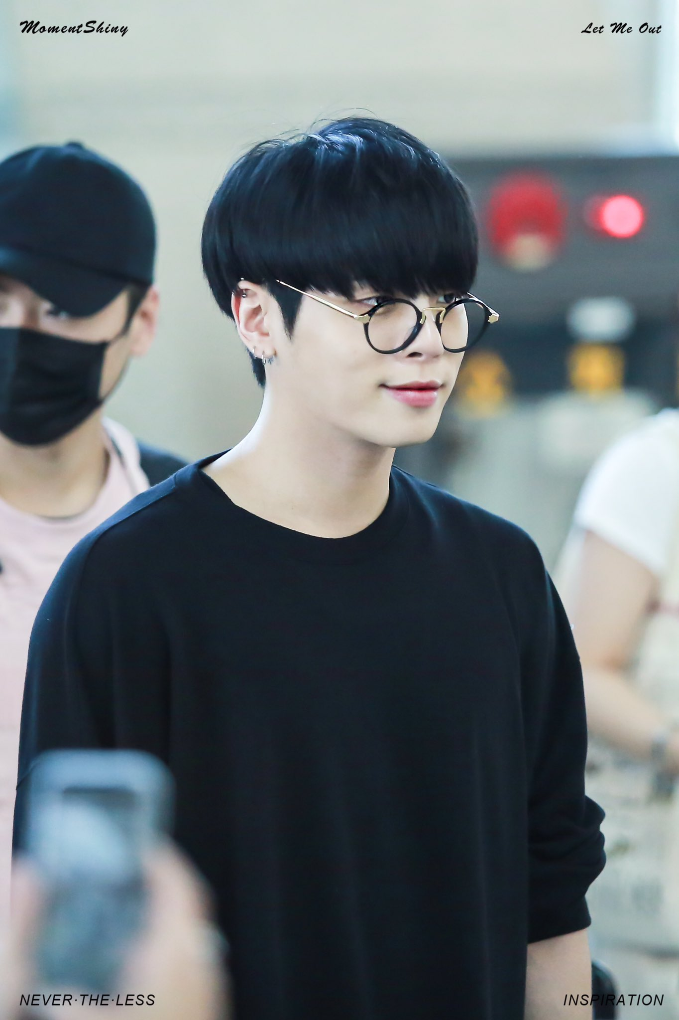 JongHyun Of SHINee Dyes His Hair Black For The First Time