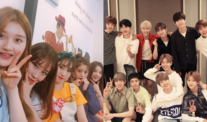 Black Mamba, IZ, MBK Entertainment, YG, Bang YeDam, Favorite, P.O.P, S.I.S