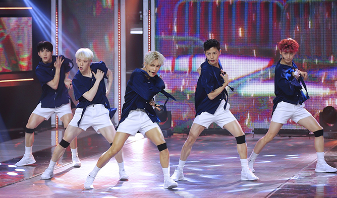 A K-Pop Male Idol Wearing Hot Pants Talks About Why And How