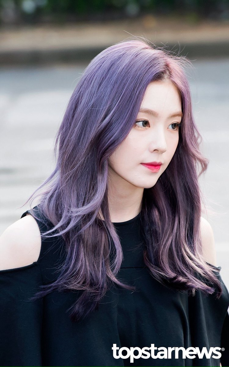 Stunning Purple Hair Of 3 Youngest Group's Visual Members ...