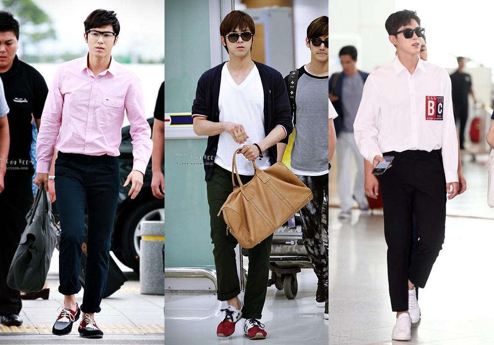 Airport Fashion, YunHo, TVXQ, TVXQ Profile