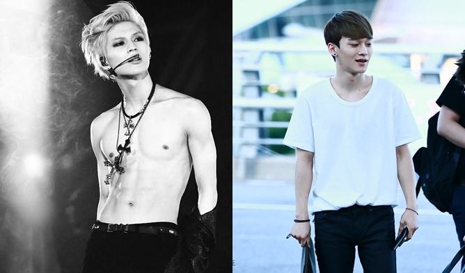 Born To Be Skinny K Pop Male Idols Who Never Gained Weight Kpopmap
