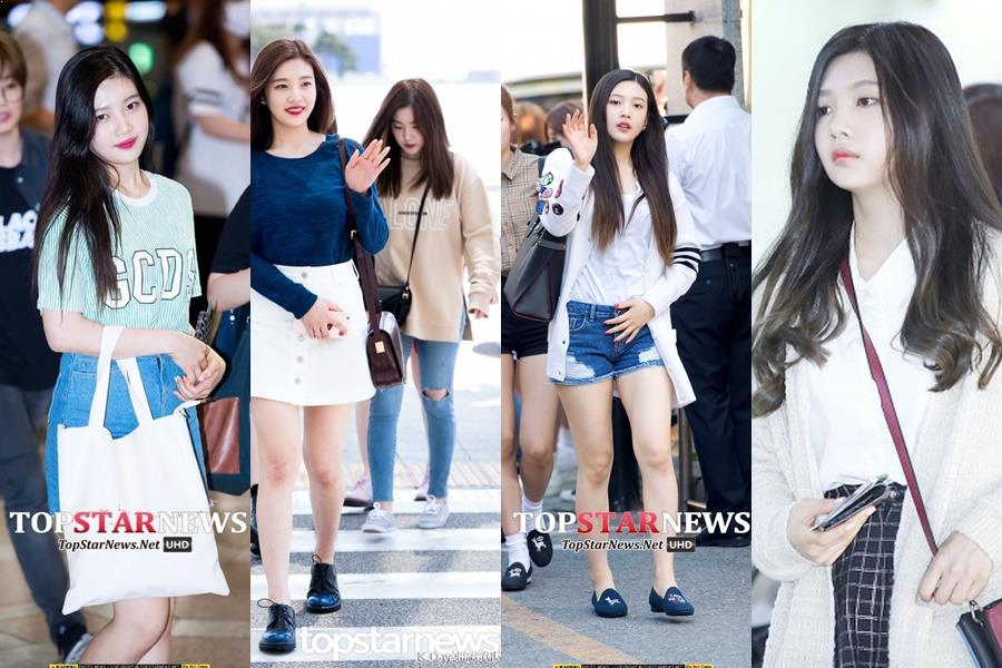 Joy, Joy of Red Velvet, Joy Airport Fashion, Red Velvet 2017 Comeback, Red Flavor, Idol Airport Fashion