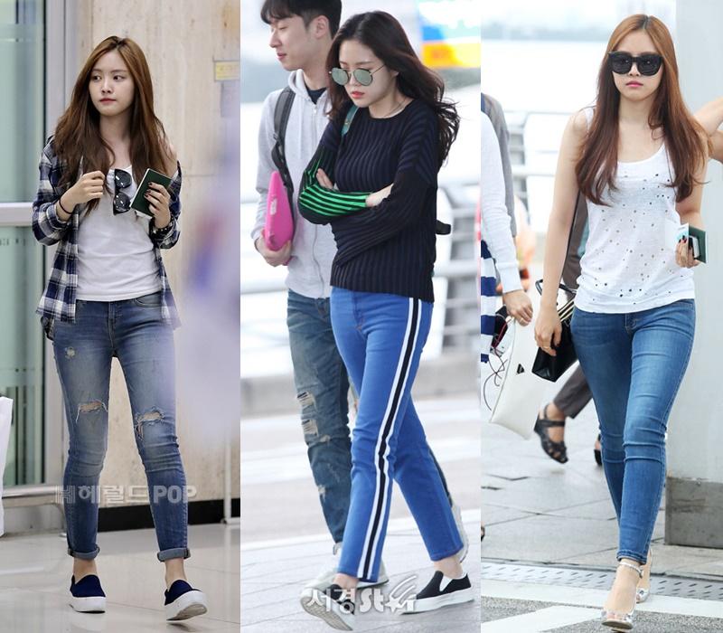 Son NaEun, NaEun of Apink, Apink, NaEun Airport Fashion, Idol Fashion