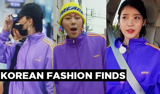 zico, korean fashion finds, purple track jacket, iu, winner, song mino