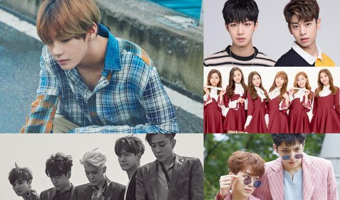 kpop september 2017, kpop september comeback, kpop september, kpop comeback lineup, kpop september lineup, lee hi, yg, bts, exo, icia, e sens, gsoul, april, bts, bap, mxm