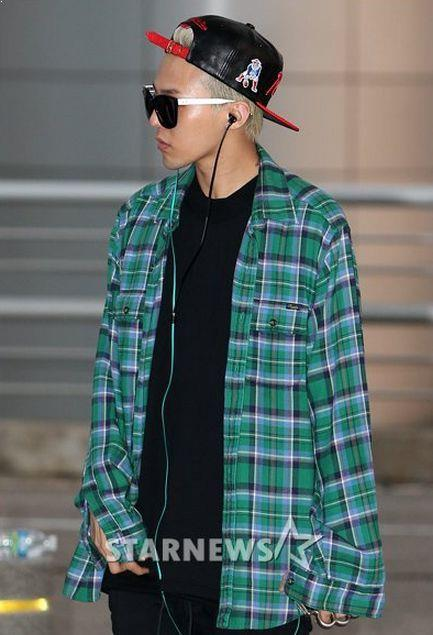G-Dragon Flannel, G-Dragon Fashion Flannel, K-Pop flannel