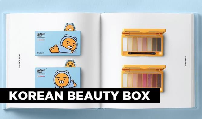 kakao friends makeup, kakao friends collaboration, kakao friends the face shop, kbeauty 2017, new kbeauty products, cute korean cosmetics