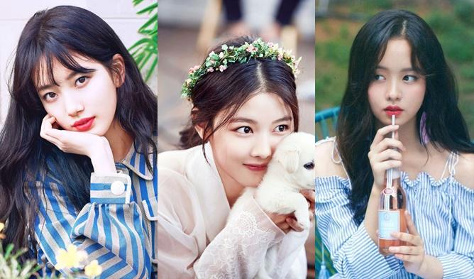Kim YooJung, Kim SoHyun, Suzy, Top 3 Beauties, Korean Drama, Idol Ranking