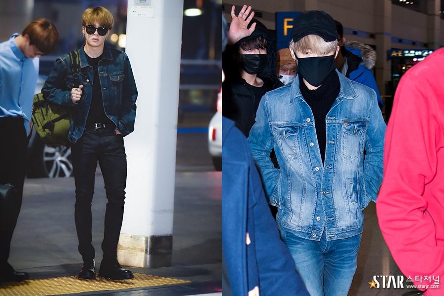 BTS, BTS Love Yourself, BTS JiMin, BTS Fashion, JiMin Fashion, JiMin Airport, Idol Airport Fashion