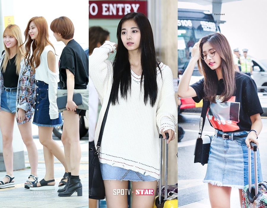 Tzuyu, Tzuyu Airport Fashion, TWICE, Tzuyu Fashion, TWICE Comeback, Idol Airport Fashion