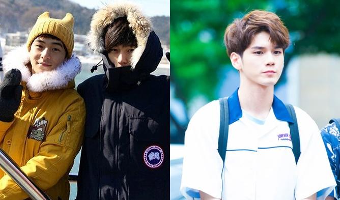 l, infinite l, infinite l brother, kpop idol sibling, kpop idol brother, l younger brother, kpop idol family
