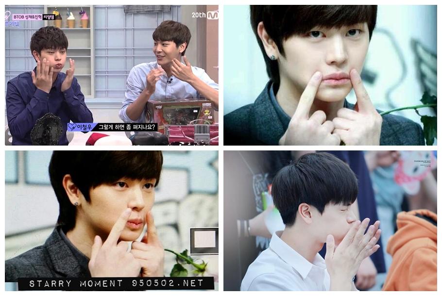 Idol Habits, DaHyun, TWICE, Xiumin, SeHun, EXO, Irene, Red Velvet, Yook SungJae, BTOB