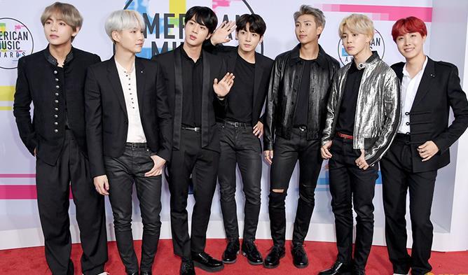 BTS, BTS AMA, BTS American Music Awards, BTS US Debut, BTS DNA, BTS KPop, BTS AMA Performance