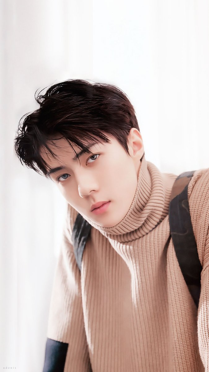 Photo )) EXO SeHun For January Issue of LEON Magazine 2018 ...